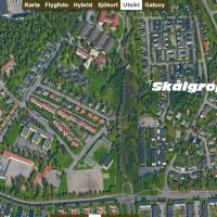Skålgropar i Trollhättan.