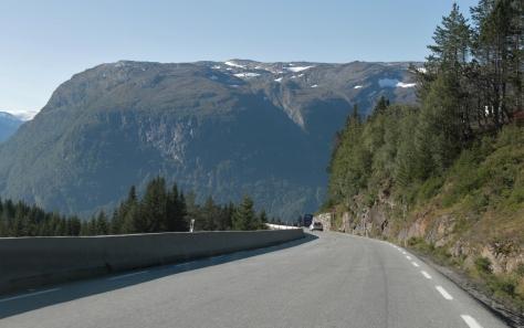 56 På väg till Vangsnes, Norge