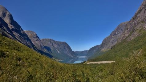 58 På väg till Vangsnes, Norge