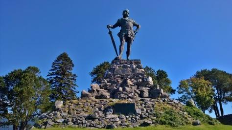 62 Fridtjof statyn på Vangsnes, Norge