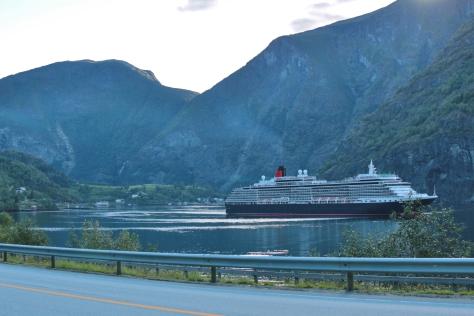 73 Flåm, Sognefjorden, Norge