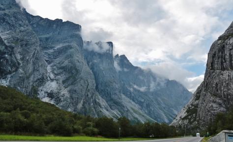 Vägen till Trollveggen Norge 14