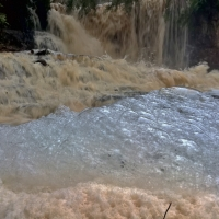 Byklev vattenfall, Hunneberg.